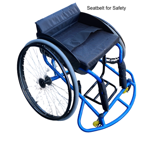 Professional Basketball Sports Wheelchair Lightweight with Removable Wheels GILANI ENGINEERING