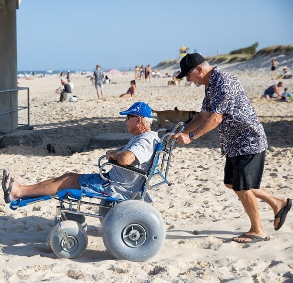 beach wheelchair provides you independence and freedom