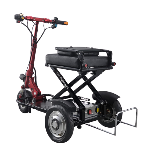 Heavy Duty Light Weight Foldable Mobility Scooter