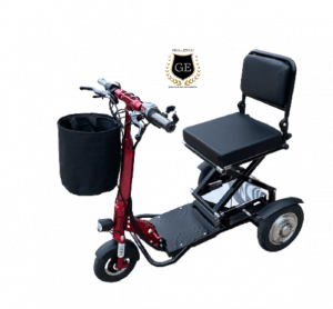 Mini Foldable portable Scooter Electric Tricycle With Spotlight