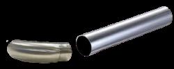 Stainless Steel Grab Rails End Handle