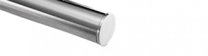 Flat End Cap stainless steel for Grab rails