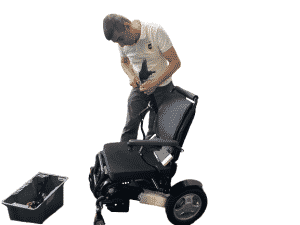 Repair and servicing of wheelchair
