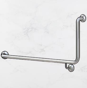 Stainless Steel L shaped corner grab rail