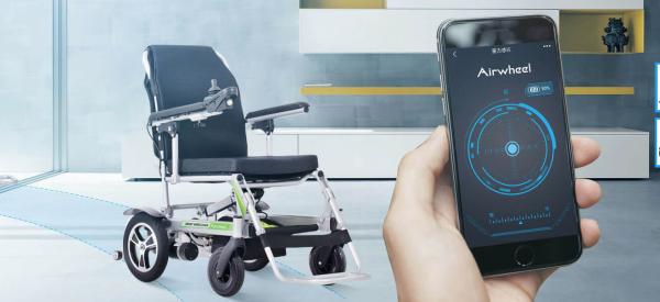 Air Wheel Automatic Auto Folding Electric Wheelchair