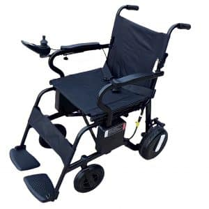 Bariatric Foldable Manual Wheelchair with Seat Belt