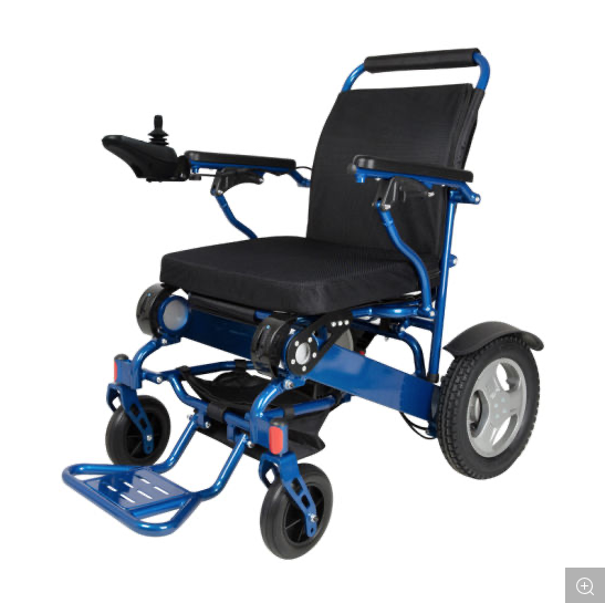 Heavy Duty Light Weight Foldable Electric Wheelchair Gilani Engineering