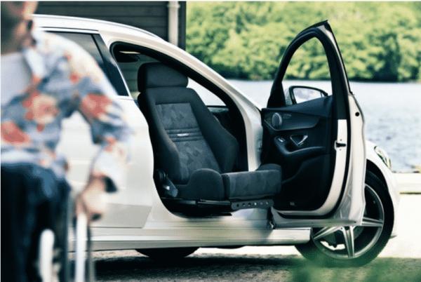 Turny Evo Programmable Swivel Seat - Mobility Engineering and Gilani Engineering