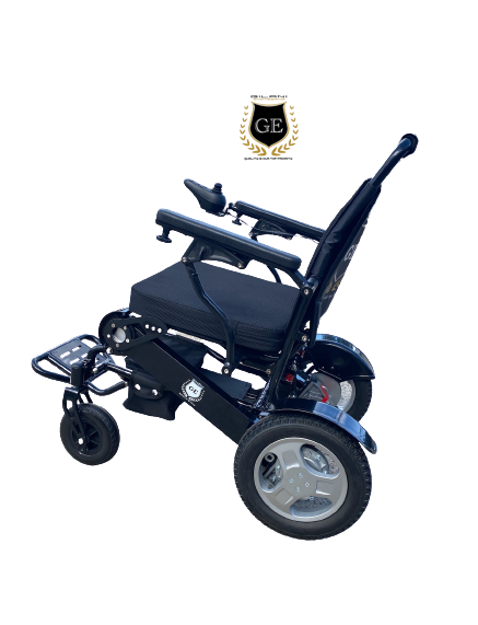 Bariatric Electric Folding Lightweight Wheelchair 180kg Capacity on Sale