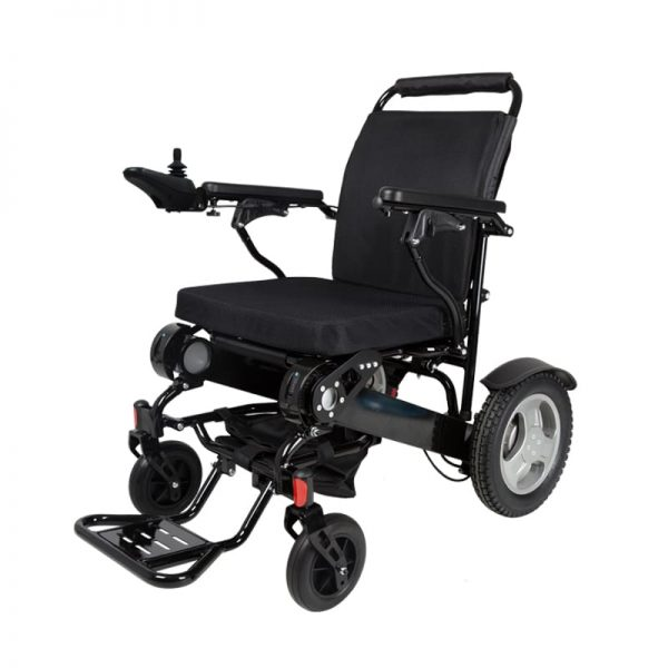 Foldable Electric Wheelchair with Reclining Backrest Gilani Engineering