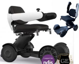 Mobility Scooter with a unique wheels function