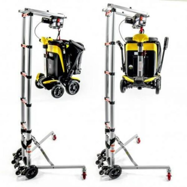 Portable Electric Wheelchair Transfer Hoist Plus GEDO9 Electric Folding scooter Sale Package Deal