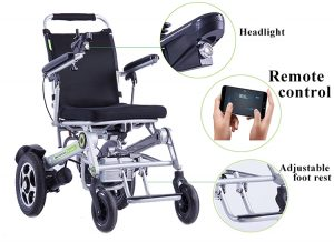 Auto folding lightweight Airwheel wheelchair