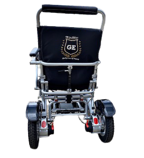 Electric Power Wheelchair Light-weight compact Folding mobility Adjustable backrest