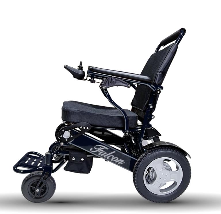 no.1 Unique Adjustable Backrest Folding Electric Wheelchair
