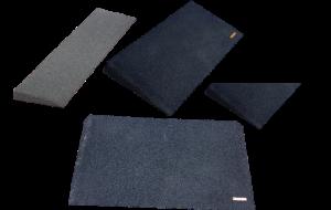 Custom rubber ramp Gilani Engineering