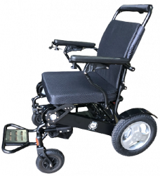 D09C Exclusive lightweight foldable adjustable backrest electric powerful wheelchair