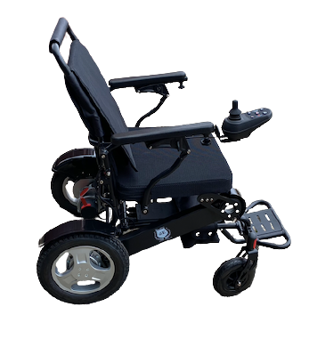 D09 Exclusive lightweight foldable adjustable backrest electric powerful wheelchair