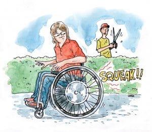 repair wheelchair