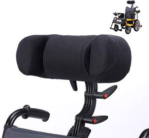Detachable Adjustable Headrest Support for Wheelchairs/Mobility Scooters GILANI ENGINEERING