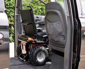 Wheelchair accessible car modification Aidacare