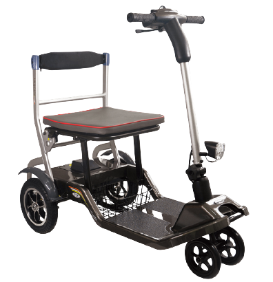4 wheel electric mobility scooter Lightest foldable electric wheelchair
