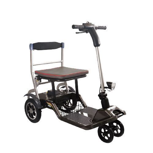 Lightest foldable electric wheelchair