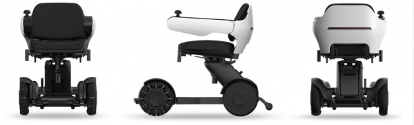 Electric Wheelchair Scooter With Unique Omnidirectional Wheels IGET1 12