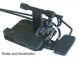 Dual Controls For Driving School Instructor Passenger Pedals - Brake and Accelerator