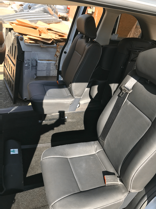 Honda Odyssey 2nd Row Conversion Fully Automatic Rear Access Ramp