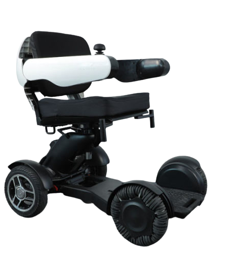Electric Wheelchair Scooter With Unique Omnidirectional Wheels IGET1 13