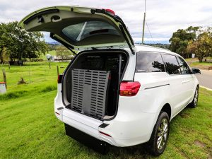 Wheelchair accessible vehicle conversion Kia Grand Carnival