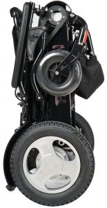 Folded Falcon Portable Wheelchair