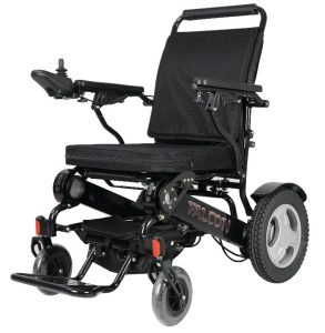 Midnight black falcon portable wheelchair