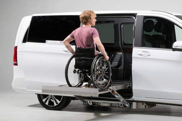 Side Wheelchair Cassette Drop Down Access Car Conversion