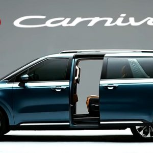 Kia Carnival Wheelchair accessible coming soon
