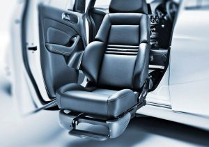 Wheelchair Accessible Car Modification Swivel Chair