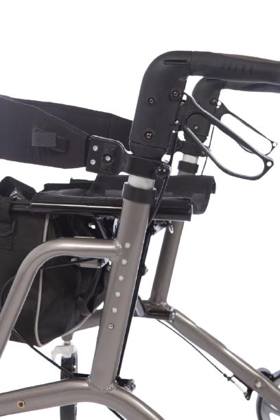Gilani Engineering four wheel rollator frame