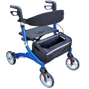 Walking frame rollator assistive walking aids