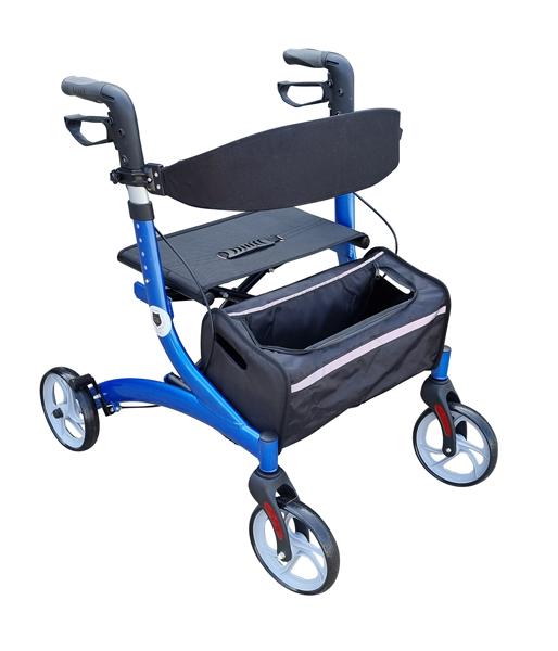4 wheel rollator light weight Walking frame rollator assistive walking aids