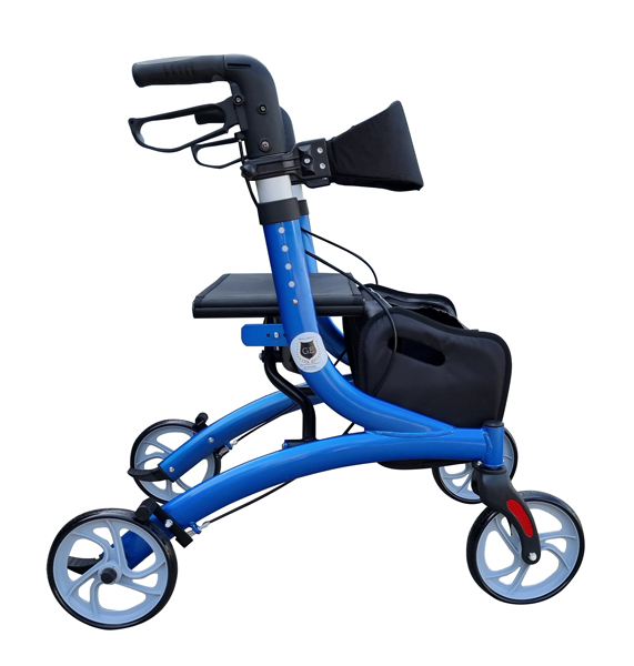 Heavy duty wheel walker for eldery and disability with a basket