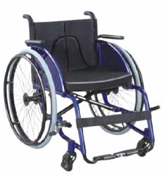 Manual light-weight 4 wheel wheelchair leisure sports wheelchair