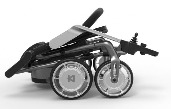 Light-weight power Wheelchair foldable