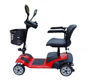 Light Weight mobility Scooter with Anti-tipping wheels