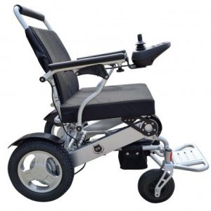 Falcon heavy duty light weight Electric Mobility wheelchair Aidacare