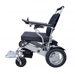 FALCON New improved electric wheelchair with recliner back rest