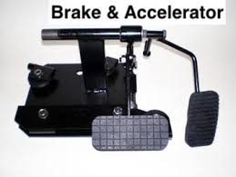 Brake and Accelerator dual control pedal installations at Gilani Engineering