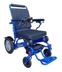 Adjustable Backrest Motorized Wheelchair Foldable Power wheelchair Falcon