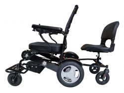 Foldable Electric Wheelchair Lightweight Heavy Duty Compact