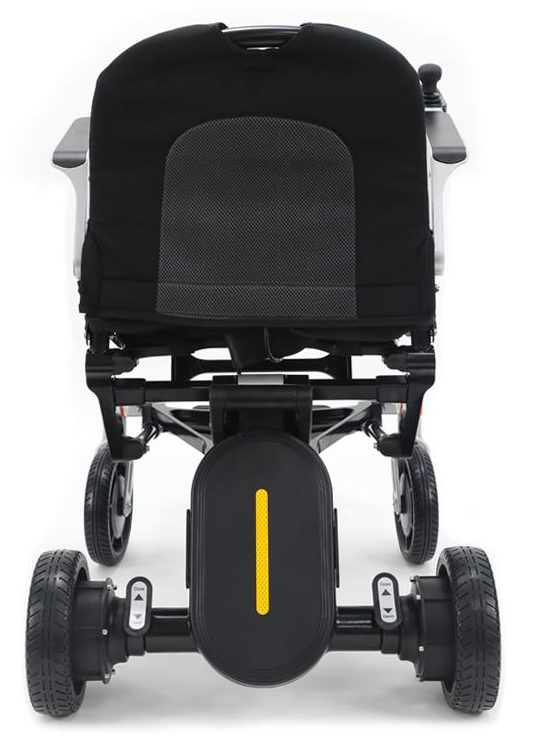 Power wheelchair with fully backrest folded down electric wheelchair Sydney